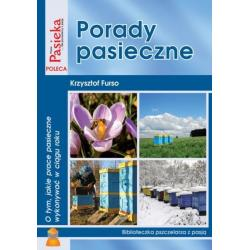 """Książka – """"Porady pasieczne"""" – Krzysztof Furso"""