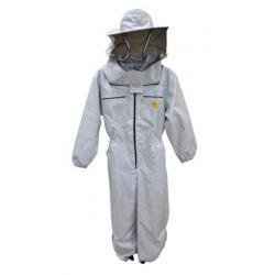 Kombinezon pszczelarski z kapeluszem –  podwójny