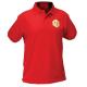 Koszulka polo z haftem (czerwona) – męska