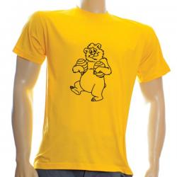Koszulka bawełniana (żółta)