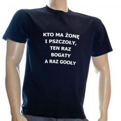 Koszulka bawełniana (czarna)
