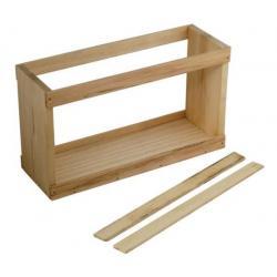 Drewniane pudełko na 3 słoiki 315ml – 1 szt.