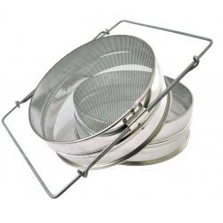 Sito podwójne metalowe Ø205mm