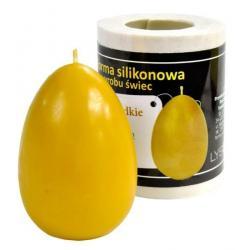 Forma silikonowa Jajko gładkie duże – wys. 7,5cm