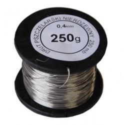 Drut nierdzewny do ramek 0,4 mm – 250g