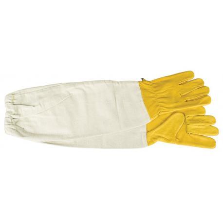 Rękawice skórzane żółte – S-XXL