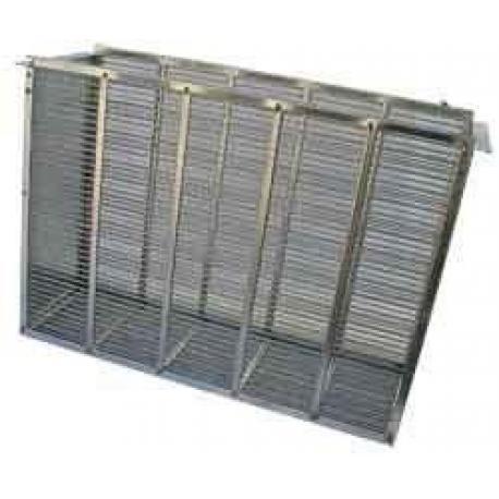 Izolator 3-ramkowy – Dadant metalowy