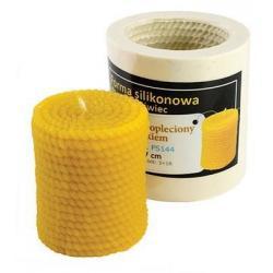 Forma silikonowa Walec opleciony sznurkiem – wys. 7cm