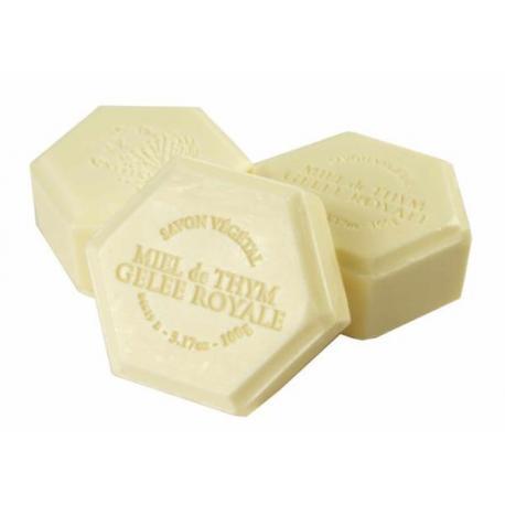 Mydło miodowe z mleczkiem pszczelim – 100g