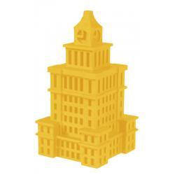 Forma silikonowa Pałac Kultury i Nauki mały – wys. 11cm