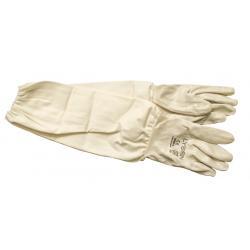 Rękawice gumowe, długie