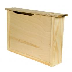 Podkarmiaczka ramkowa Wielkopolska – drewniana 4l