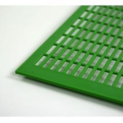 Krata odgrodowa plastikowa Dadant / Langstroth pozioma gruba – 418x490mm