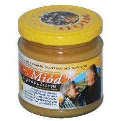 Miód z propolisem – 250g