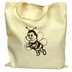 Torba bawełniana z pszczółką – 1 szt.