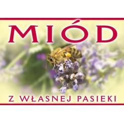 """Tablica informacyjna – """"Miód"""""""