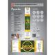 Paczka etykiet z banderolą na miód ze spadzi iglastej – 100 szt.