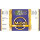 Paczka etykiet z banderolą na miód faceliowy – 100 szt.