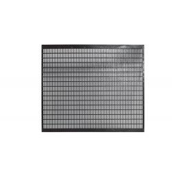Krata odgrodowa Langstroth Amerykański, czarna, plastikowa 42x51,1 cm