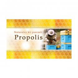 Naklejka mini propolis – 45x25mm