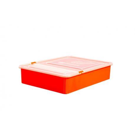 Podkarmiaczka plastikowa skrzynkowa 1,5 l