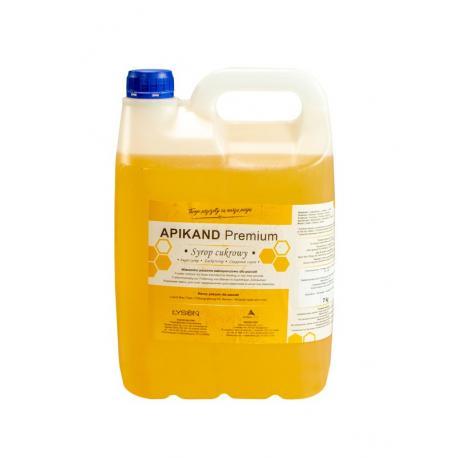 Apikand Premium - syrop cukrowy - 7 kg x 108 szt. - paleta (Cena za 1 kg - 3,97 zł)