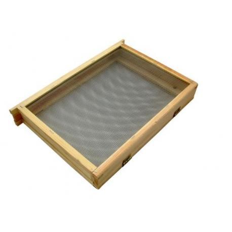 Izolator do poddawania matek 1-ramkowy Wielkopolski – drewniany z metalową siatką