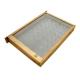 Izolator do poddawania matek 1-ramkowy Dadant – drewniany z metalową siatką