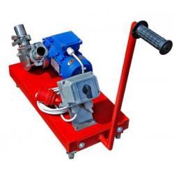 Urządzenie ssąco-tłoczące do kremowania i przepompowywania miodu 400V 0,37kW